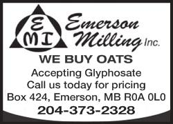 Image for Emerson Milling WE BUY OATS Ca…